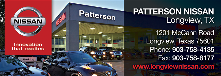 Patterson Nissan Longview Tx >> Christians In Business Patterson Nissan Details