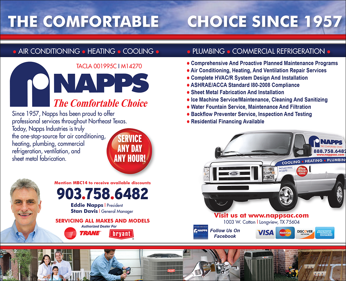 Napps Heating, Air Conditioning & Plumbing