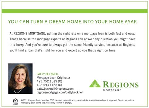 Regions Mortgage Loan Originator - Best Mortgage In The World