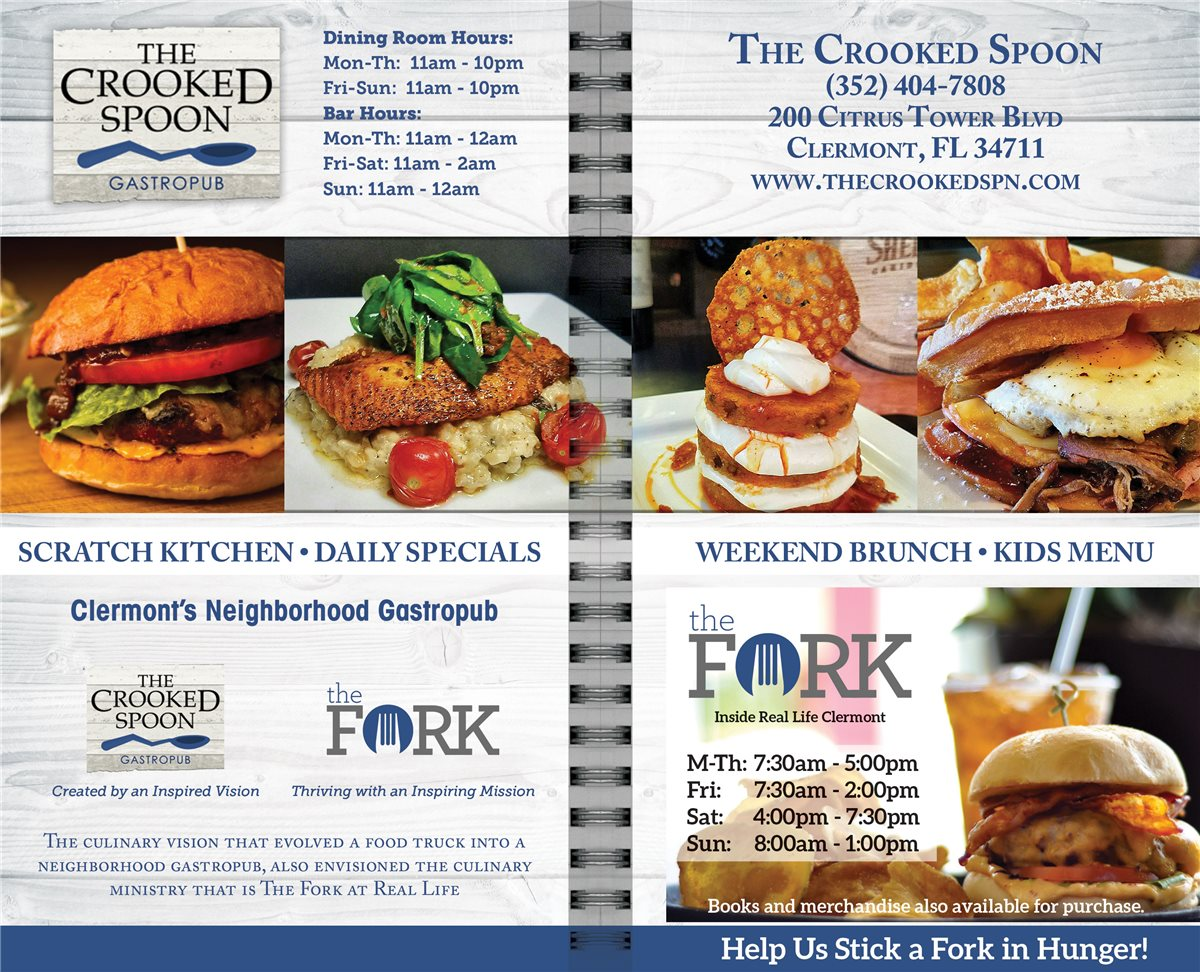 Christians In Business The Crooked Spoon Gastropub Details