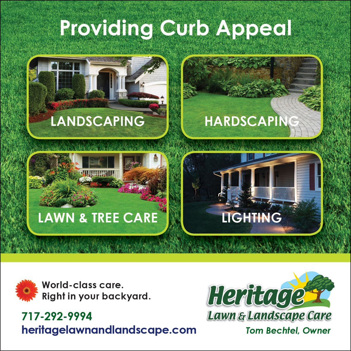 Heritage Lawn and Landscape Care - Christians In Business - Heritage Lawn And Landscape Care - Details
