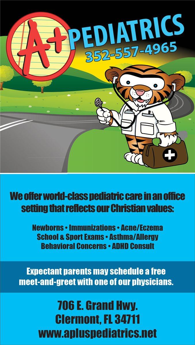 Christians In Business A Plus Pediatrics Details
