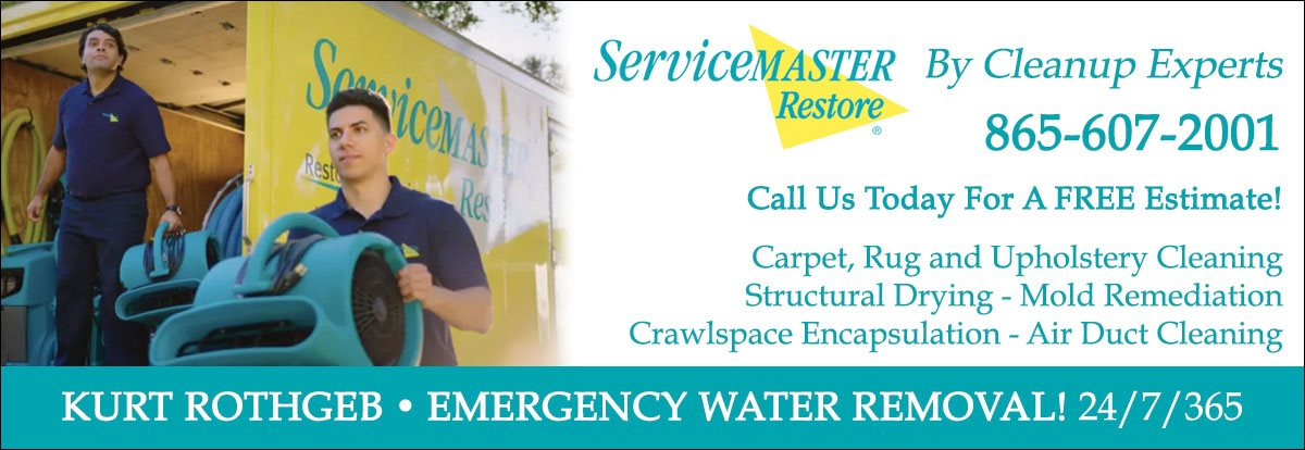 ServiceMaster by Cleanup Experts  865-607-2001
