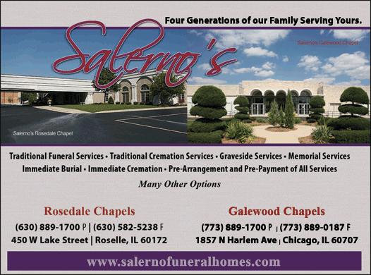 Christians In Business Salerno Rosedale Chapels Details