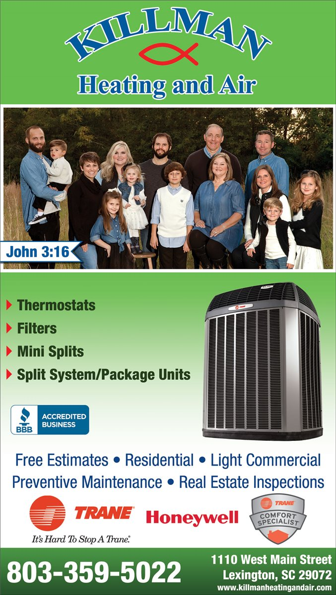 christians in business - killman heating and air - details