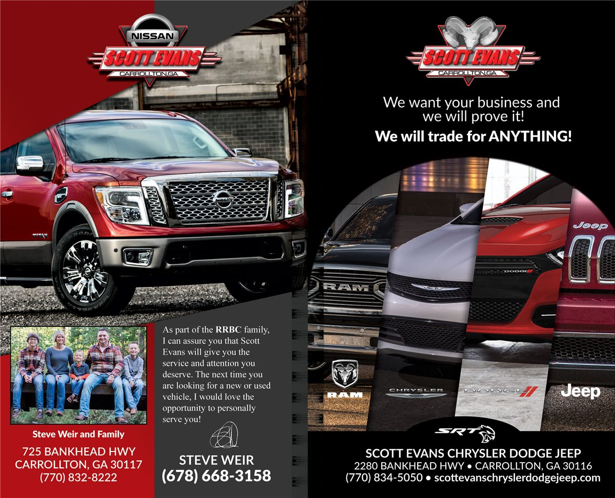 Christians In Business Scott Evans Dodge Chrysler Jeep Details