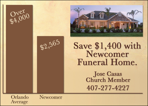 Christians In Business Newcomer Funeral Home Details