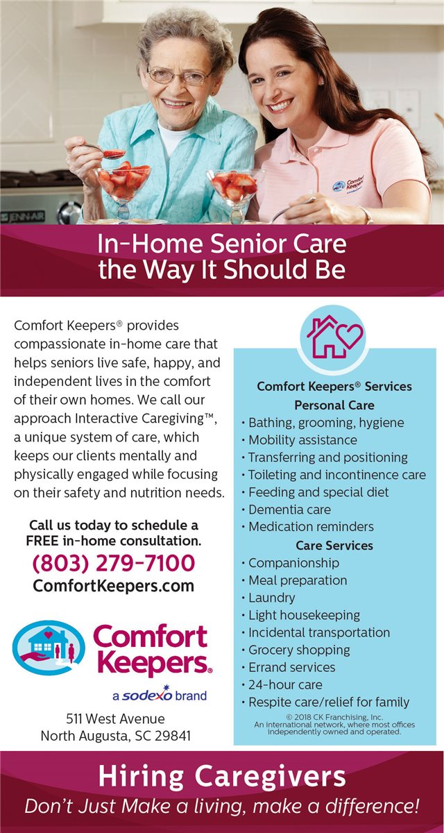 Christians In Business - Comfort Keepers Home Care - Details