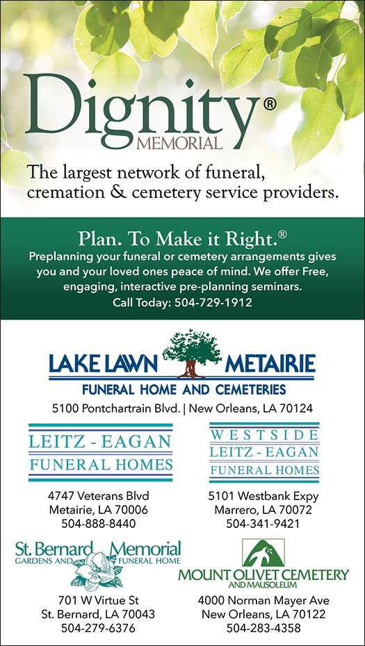 Christians In Business - Lake Lawn Metairie Funeral Home and ...