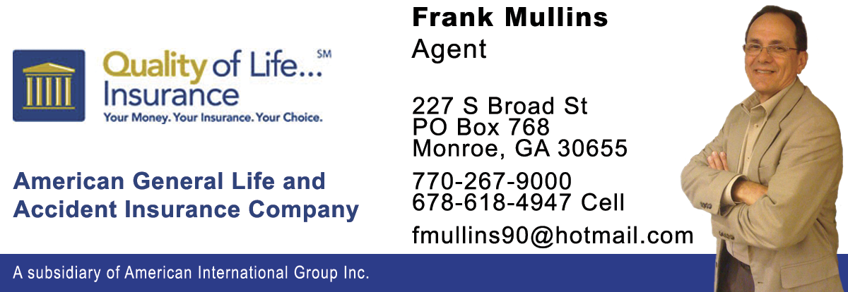 Christians In Business Aig American General Life Accident Insurance Company Frank Mullins Details