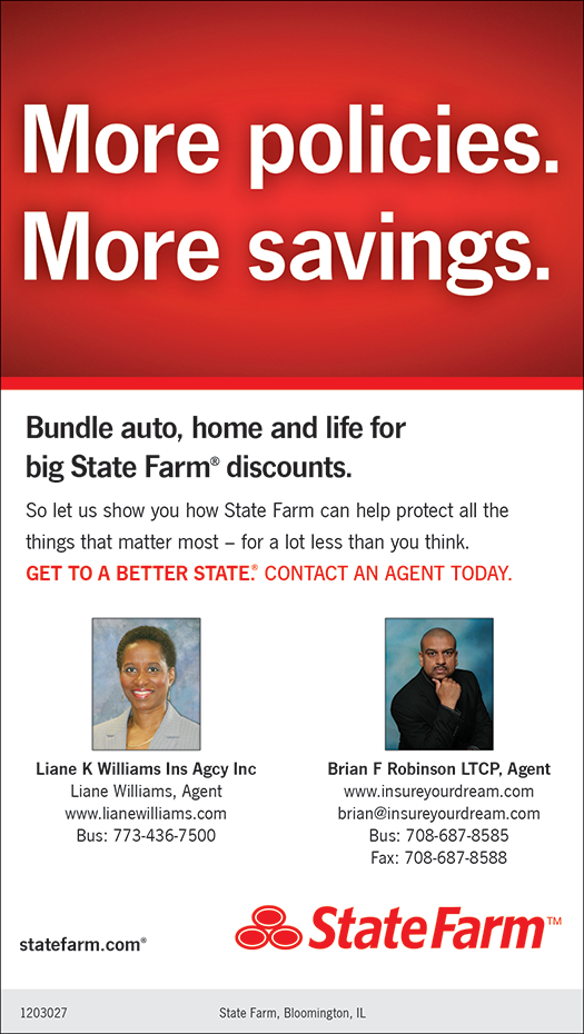 Christians In Business State Farm Insurance Liane Williams Details