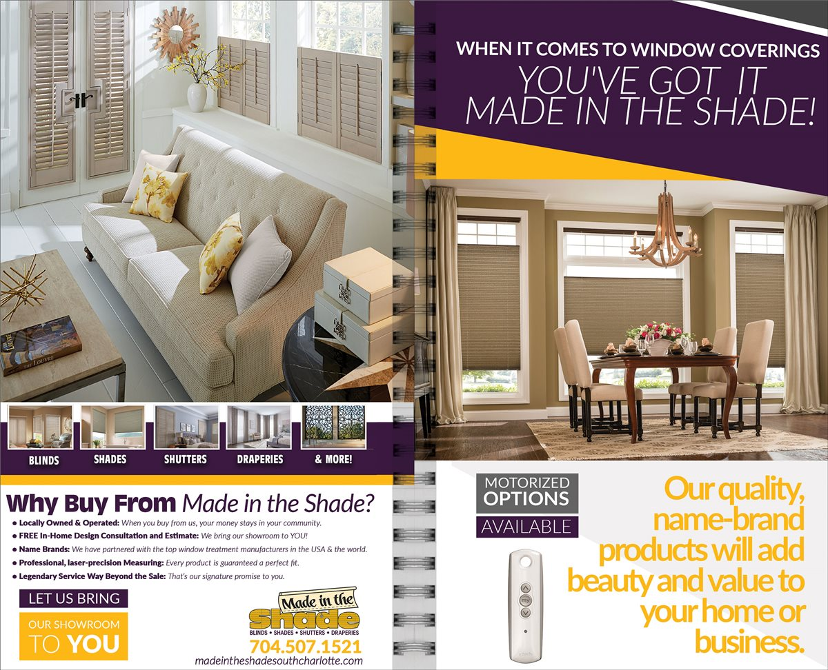 Made In The Shade Blinds & Floors South Charlotte