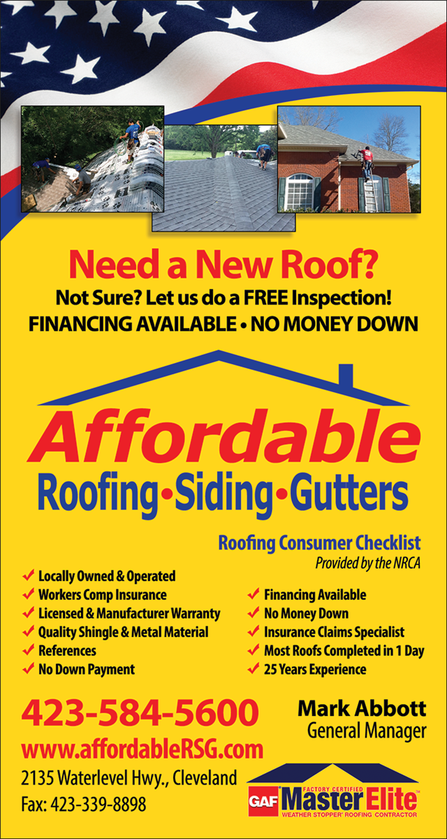 Affordable Roofing Siding And Gutters Llc