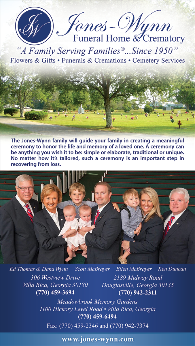 Jones Wynn Funeral Home Villa Rica