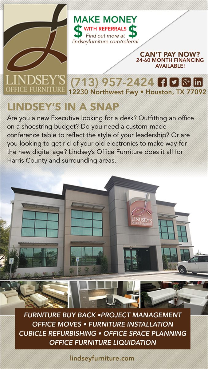 Christians In Business Lindsey New Used Office Furniture Details